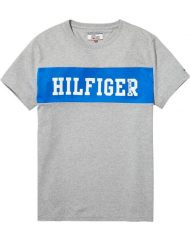 DM0DM02404038 HILFIGER DENIM – LOGO T-SHIRT Blue | GATE 36 HOBRO