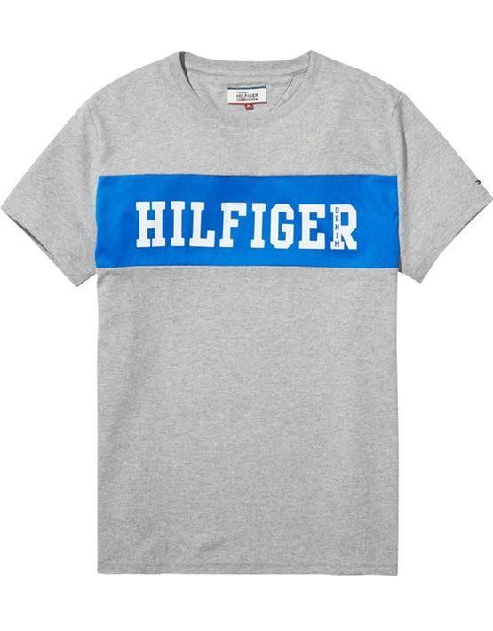 DM0DM02404038 HILFIGER DENIM - LOGO T-SHIRT Blue | GATE 36 HOBRO