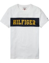 DM0DM02404100 HILFIGER DENIM – LOGO T-SHIRT Blue | GATE 36 HOBRO