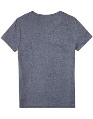 DM0DM03622002 HILFIGER DENIM - Tee Grey Melange | GATE 36 HOBRO