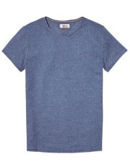 DM0DM03622425 HILFIGER DENIM – Tee Blue Melange | GATE 36 HOBRO