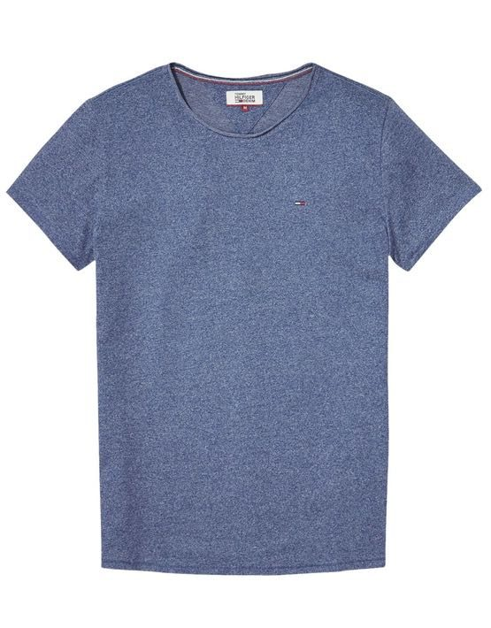DM0DM03622425 HILFIGER DENIM - Tee Blue Melange | GATE 36 HOBRO