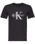 Calvin Klein - T-shirt S-S Crew Neck Black | Gate 36 Hobro |