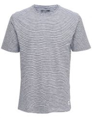 Only & Sons – Sejr Reg Tee White Stripe | Gate 36 Hobro|