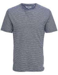 Only & Sons – Sejr Reg Tee Blue Stripe | Gate 36 Hobro |