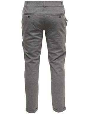 ONLY & SONS Normal Chino Pants Grey 22005370 GATE36 HOBRO
