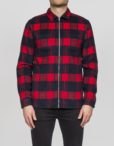 RVLT - 3607 Shirt Check Red | Gate 36 Hobro