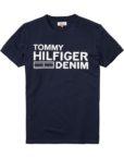 HILFIGER DENIM - LOGO T-SHIRT NAVY | Gate 36 Hobro