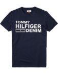 HILFIGER DENIM - LOGO T-SHIRT NAVY   Gate 36 Hobro
