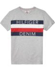 HILFIGER DENIM - CITY TEE GREY | GATE 36 HOBRO
