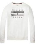 Hilfiger Denim - CN Sweat white | GATE 36 HOBRO