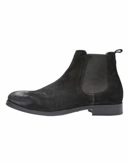 Selected Boot - SHD BOLTON CHELSEA BLACK   Gate 36 Hobro