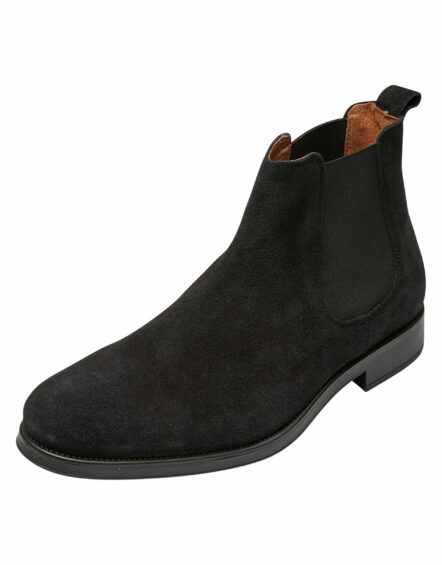 Selected Boot – BAXTER LEATHER BOOTS BLACK