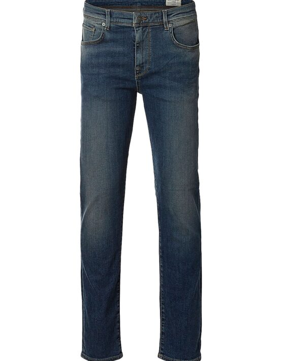 Selected Jeans – Leon 1004 Medium Blue | Gate 36 Hobro