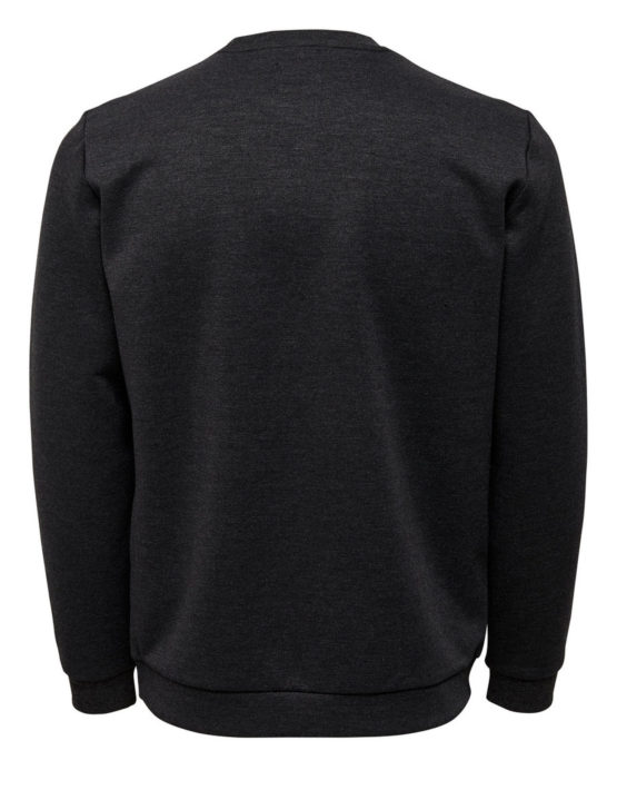 Only & Sons - Vinn Sweat Dark Grey | Gate 36 Hobro