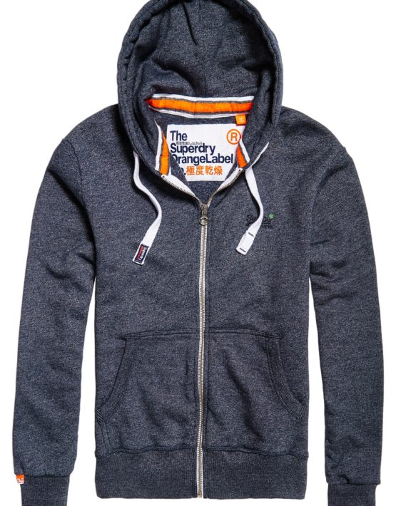 Superdry Sweat - Orange Label Ziphood | Gate 36 Hobro