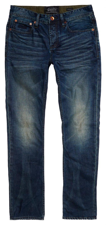 SuperDry Jeans - LE2 Skinny Jean Slate Blue   Gate 36 Hobro