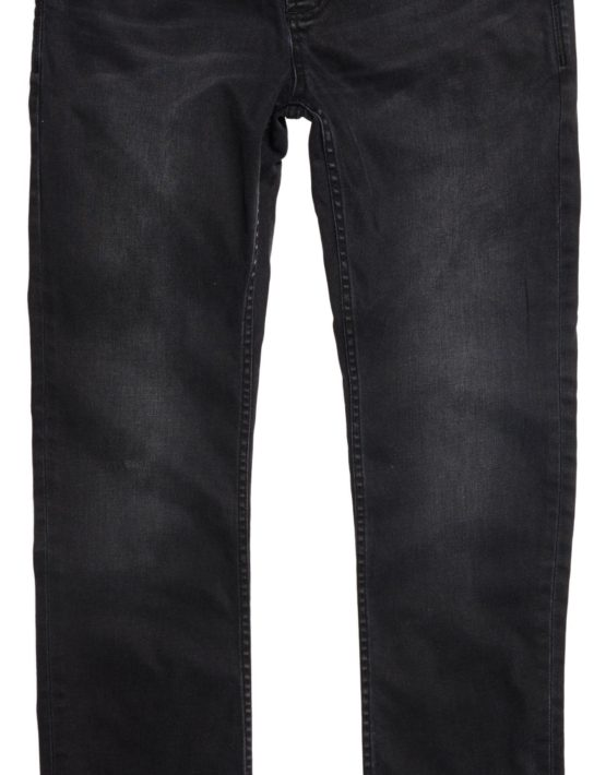 SuperDry Jeans - KZ1 Skinny Jeans Pitch Black | Gate 36 Hobro