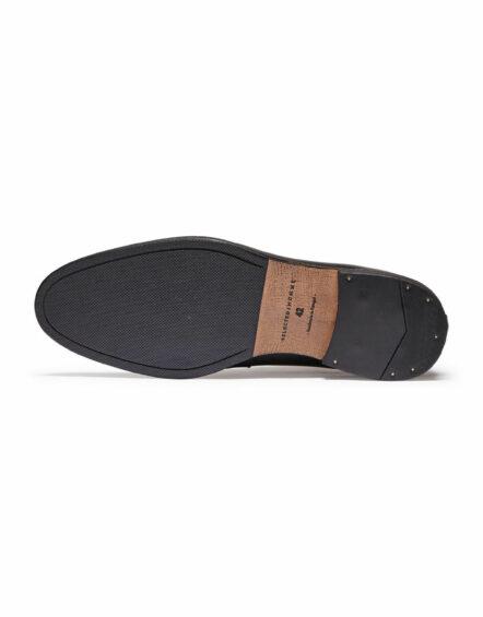 Selected Bolton Chukka Leather Boots - Black   Gate 36 Hobro