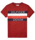HILFIGER DENIM - CITY TEE RED | Gate 36 Hobro