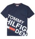 HILFIGER DENIM - LOGO TEE S/S NAVY
