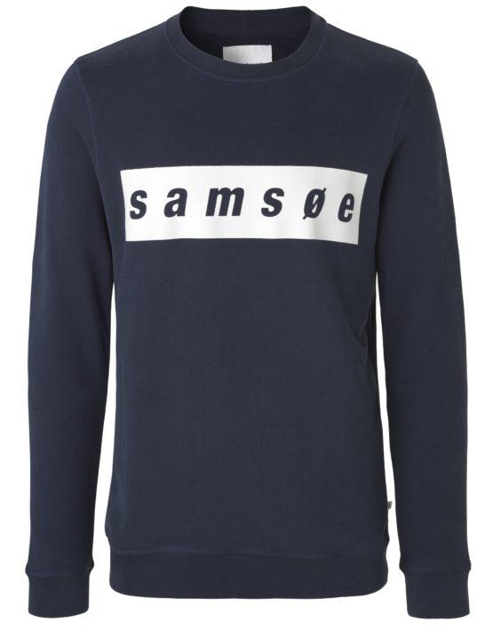 samsøe samsøe Samsoe o-n ls 9461 – Dark Sapphire | GATE 36 Hobro