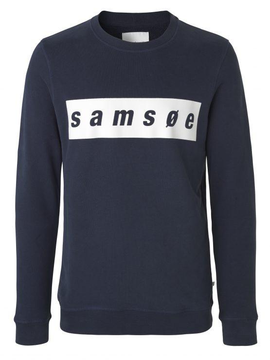 samsøe samsøe Samsoe o-n ls 9461 - Dark Sapphire   GATE 36 Hobro