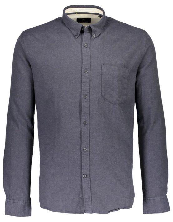 Junk de Luxe Skjorte – Kam Navy Mel | GATE36 HOBRO