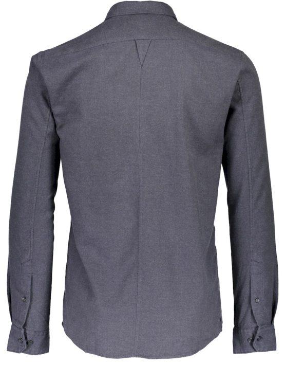 Junk de Luxe Skjorte - Kam Navy Mel | GATE36 HOBRO