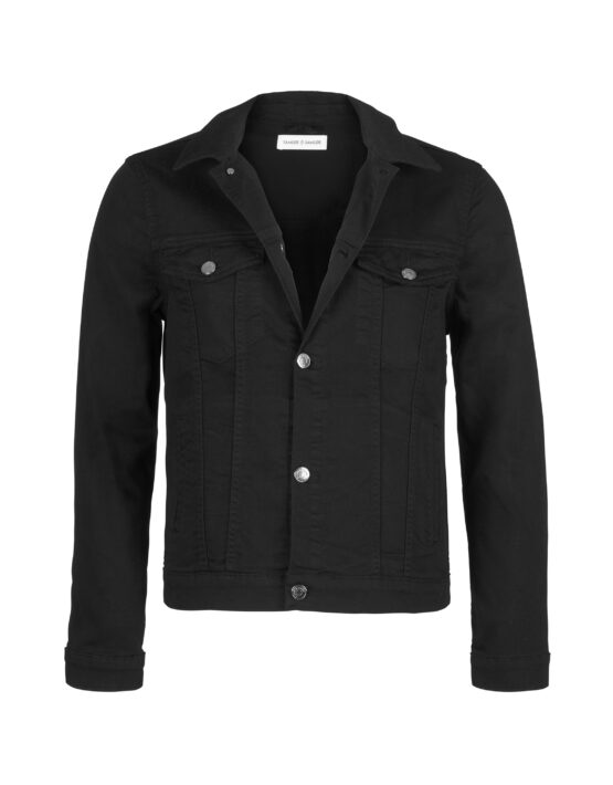 Samsøe Samsøe – Laust Denim Jacket Black Rinse