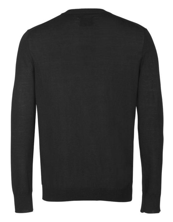 samsøe samsøe lucky zip cardigan 3111 - black | GATE 36 Hobro