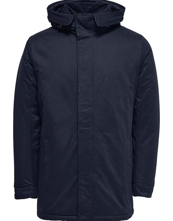 Only & Sons Jakke - Ethan Parka Dark Navy | Gate 36 Hobro
