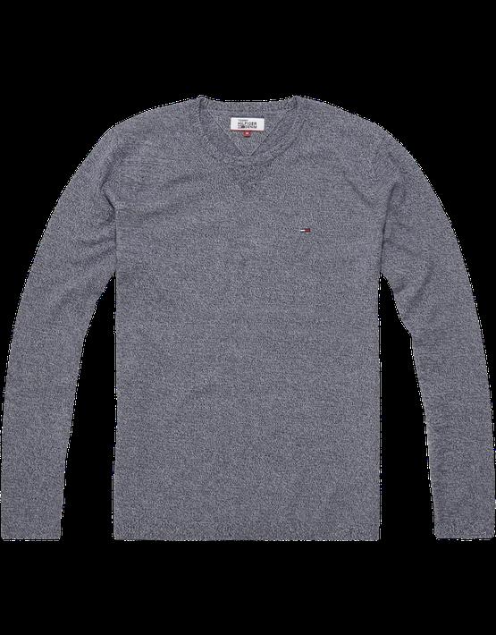 Tommy Jeans - Basic CN Sweater L/S Navy | Gate 36 Hobro