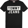 Tommy Jeans - CN TEE S/S BLACK | Gate 36 Hobro |