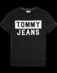 Tommy Jeans - CN TEE S/S BLACK | Gate 36 Hobro |