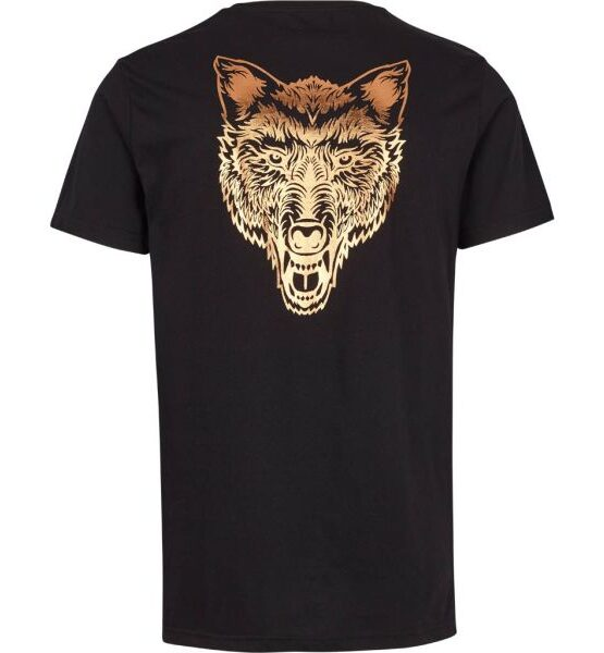 Just Junkies - Wolf New Tee Black | Gate 36 Hobro