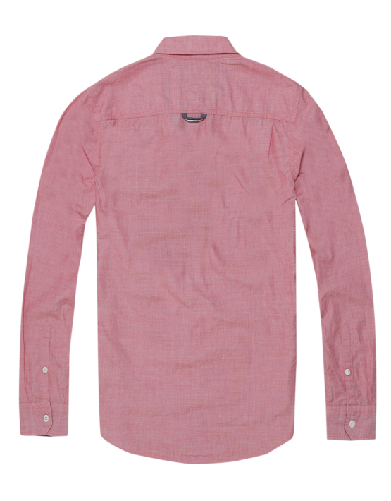 TJM - Basic Solid Shirt Racing Red | Gate 36 Hobro