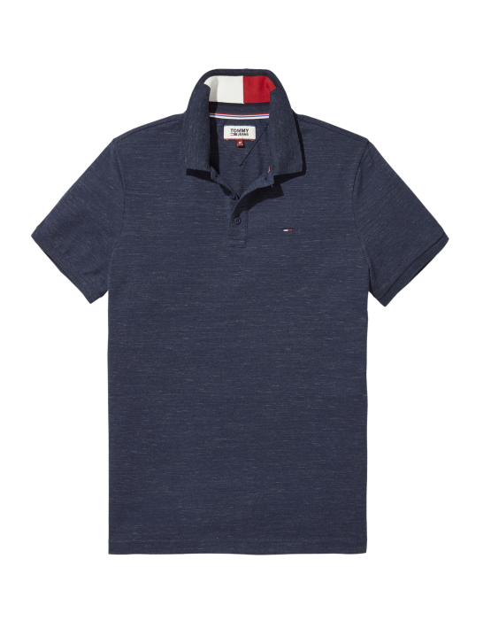 TJM - Slim Polo Navy Mel | Gate 36 Hobro