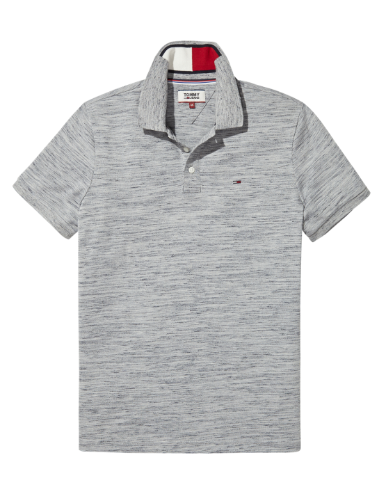 TJM - Slim Polo Grey Mel | Gate 36 Hobro