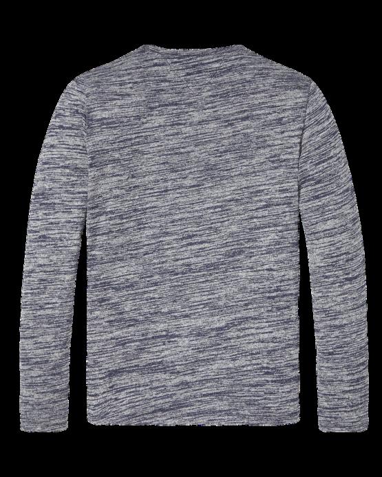 TJM Strik - SWT CN Knit L/S Blue
