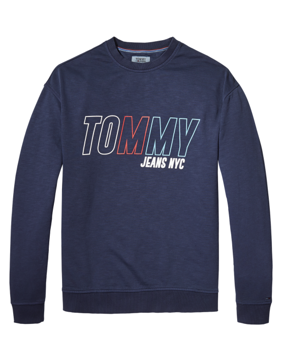 TJM - Vintage Graphic Crew Navy | Gate 36 Hobro