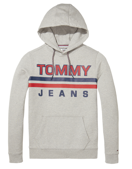 TJM Hoodie - Essential Graphic Light Grey | Gate 36 Hobro