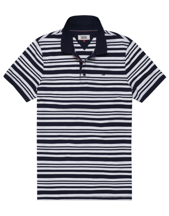 TJM - ESSENTIAL STRIPE POLO | Gate 36 Hobro