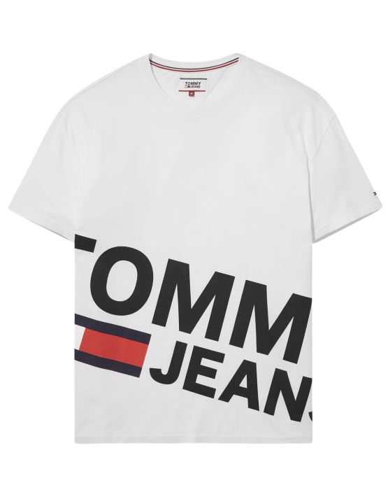 TJM - Essential Magnified Logo White | Gate 36 Hobro