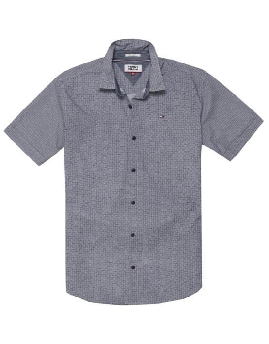 TJM - Printed S/S Grey | Gate 36 Hobro