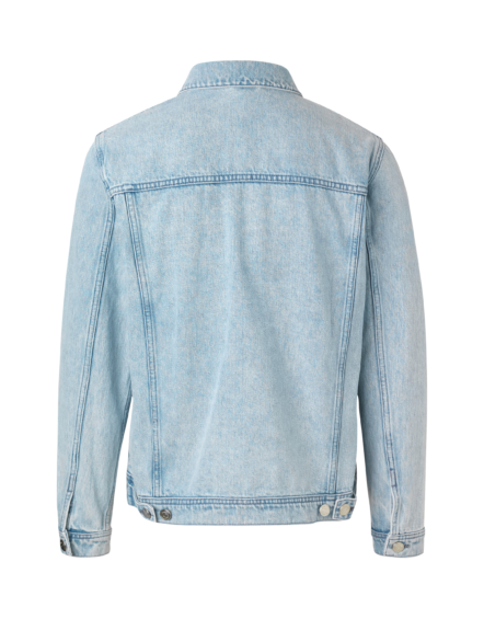 Samsøe Samsøe - Laust Denim Jacket Ice Blue | GAte 36 Hobro