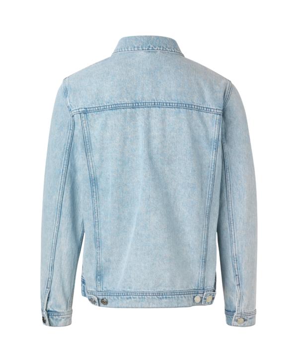 Samsøe Samsøe - Laust Denim Jacket Ice Blue | GAte 36 Hobro