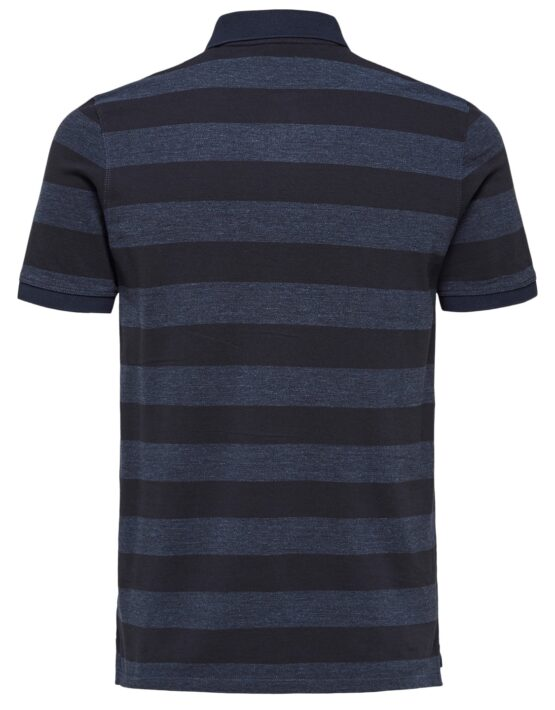 Selected - Aro Polo Dark Navy Stripe Limted Edition | Gate 36 Hobro