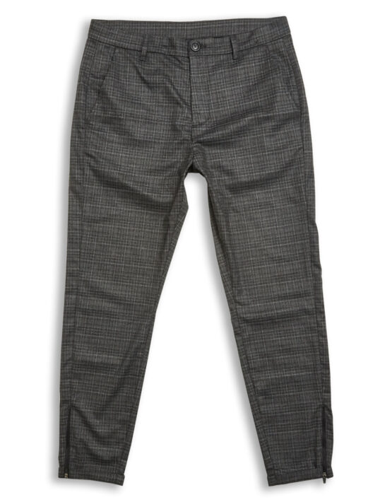 GABBA - PISA PANTS GREY CHECK | Gate 36 Hobro