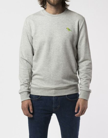 RVLT – 2539 Und Sweat Print Grey
